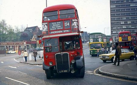 West Croydon Bus Station before trams