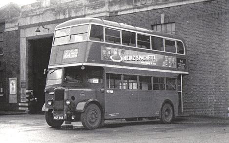 A 'utility' Daimler outside Sutton Garage