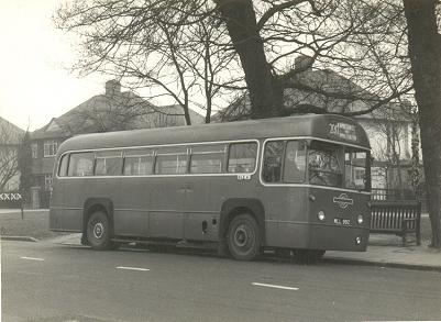 West Wimbledon in the 1950s