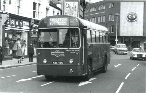 Kingston one-way system, mid-60s