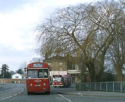 Staines West Station, 1979