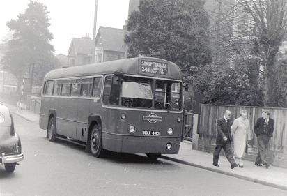 RF466 in Sidcup Hill