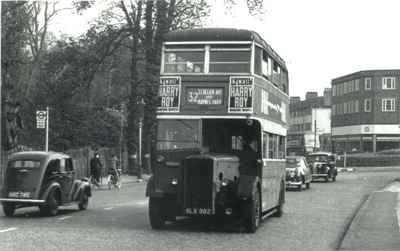 Morden Hall Road in 1950