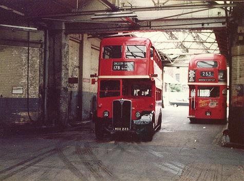 RLH23 visits Dalston garage in 1981