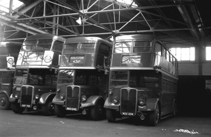 Addlestone Garage in the 60s
