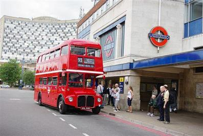 A Putney Routemaster on the 93