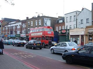 RT190 in Lower Clapton Road